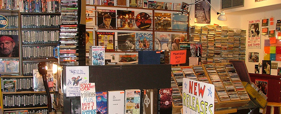 New and Used Music and Movies - Madison, WI